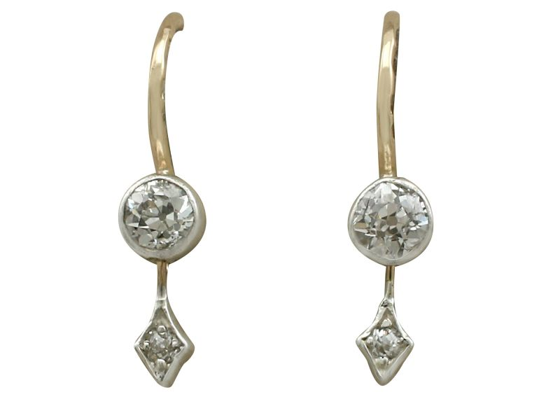 karat kids cubic in for childrens earrings carat stud gold solitaire